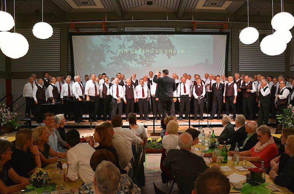 Ötlinger Sänger feiern das 175-jährige Bestehen ihres Vereins